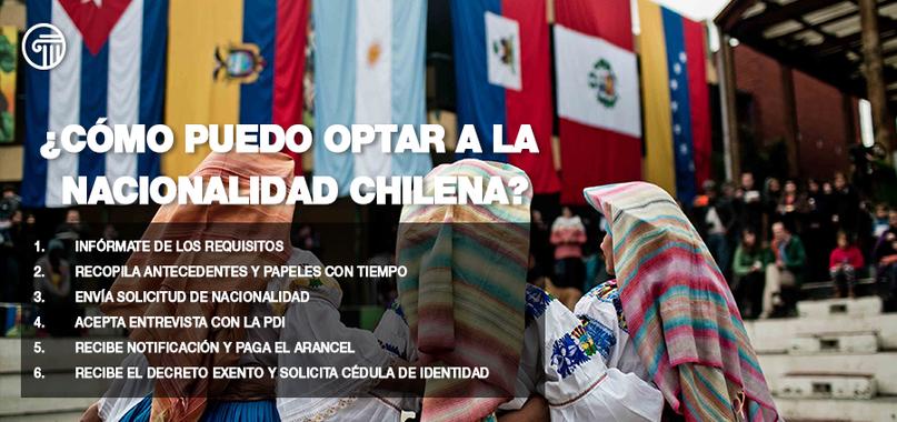 optar a nacionalidad chilena