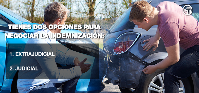 indemnización accidente automovilístico