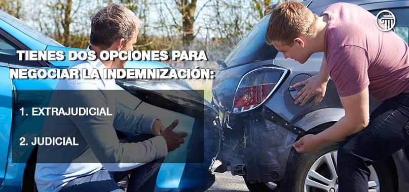 indemnización accidente automovilístico