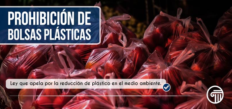 Prohibición bolsas plasticas