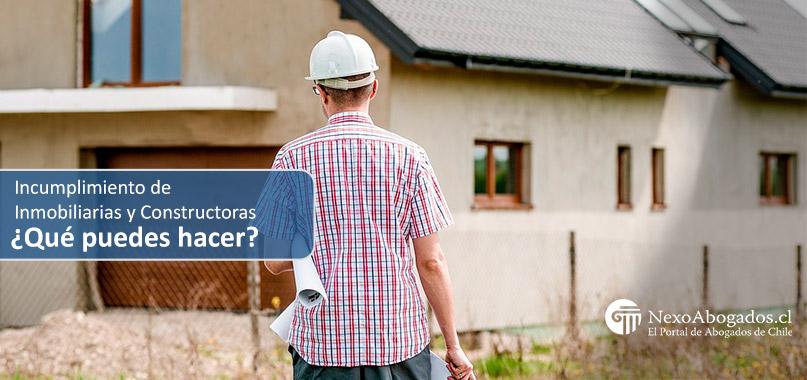 protección consumidor inmobiliarias y constructoras