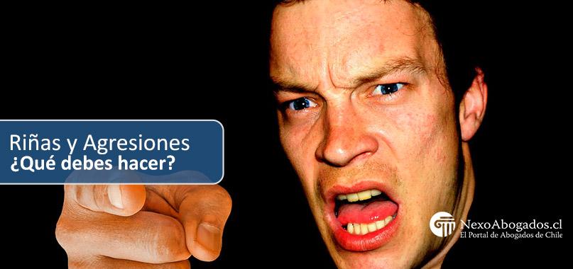 riñas agresiones y peleas