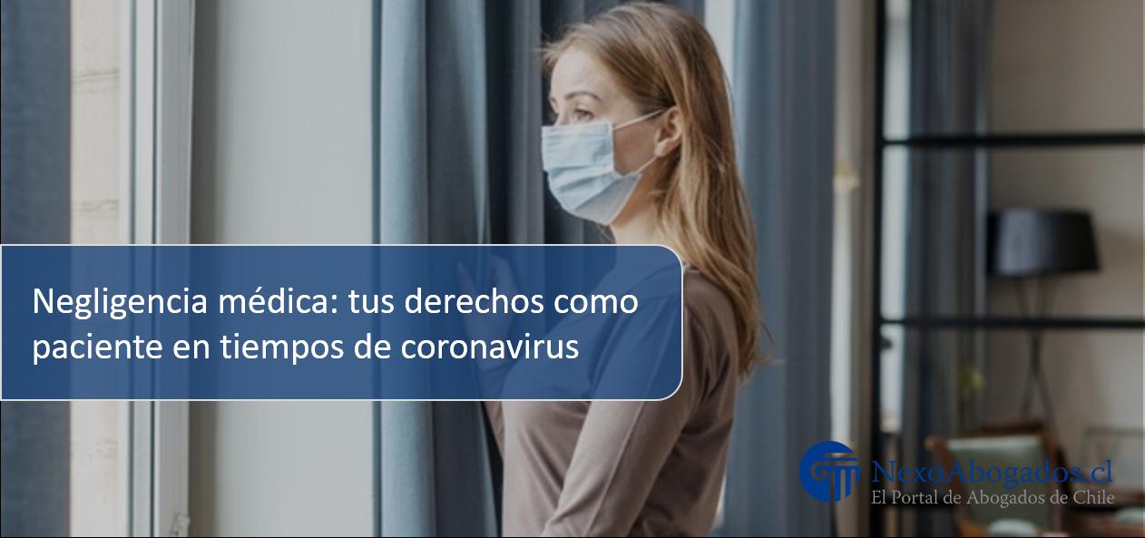 Negligencia médica coronavirus